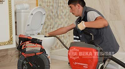 robotla cihazla tuvalet acma